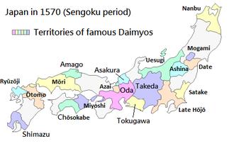 1570 Japon Sengoku