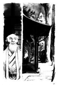 O Sensei : page intérieure