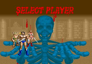 golden axe select player