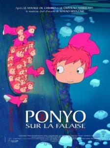 Ponyo sur la falaise (Hayao Miyazaki)