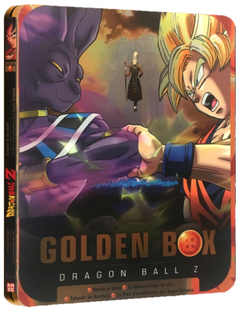 Dragon Ball Z Golden Box BR