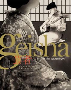 Geisha le jeu du shamisen : couverture