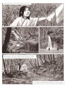 Geisha le jeu du shamisen : planche