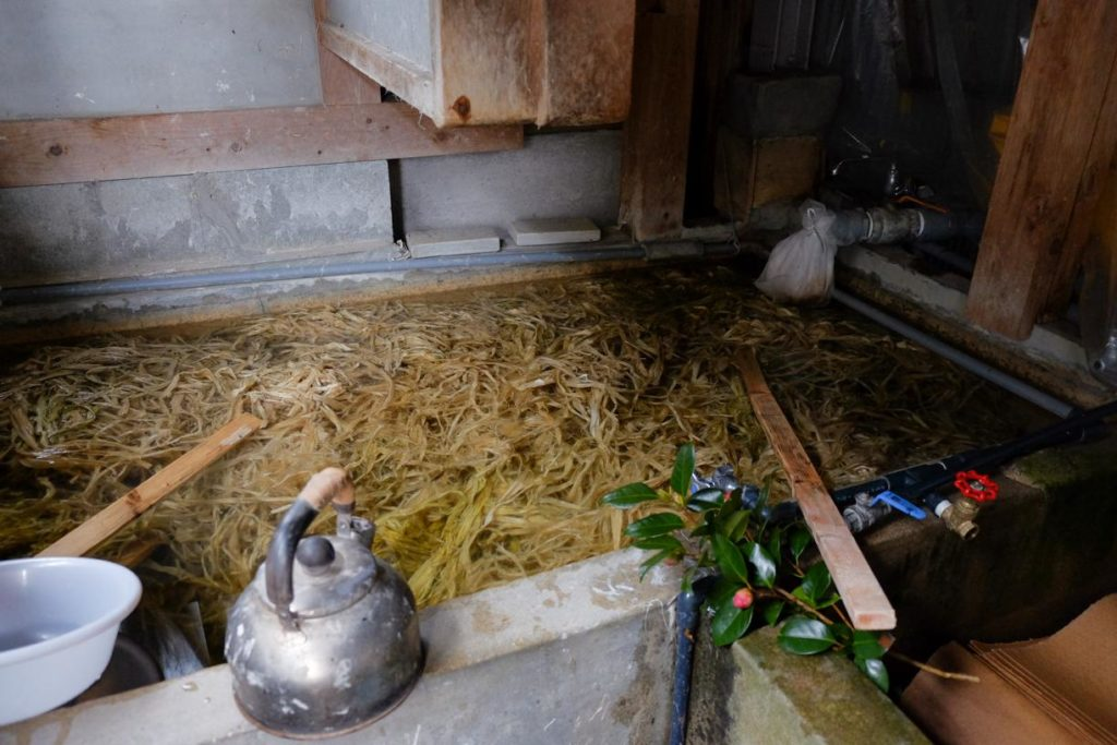 fibres de mûrier