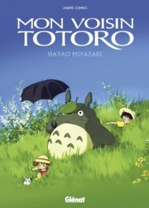 Mon voisin Totoro, anime comics : couverture