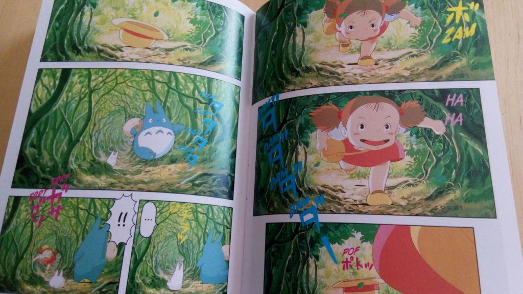 Anime comics : pages intérieures