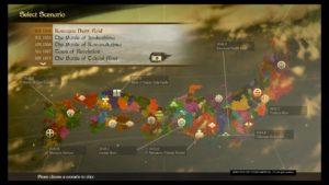 Carte du Japon médiéval : un terrain de jeu immense !