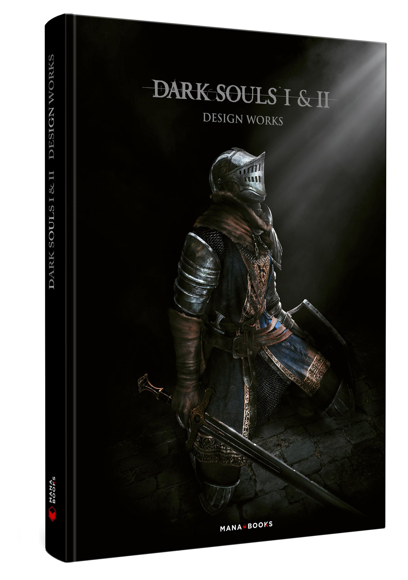 Couverture de l'artbook dark souls
