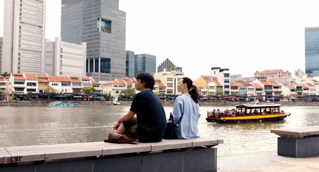 Masato et sa guide dans Singapour, Miki (Seiko MATSUDA) ©Art House