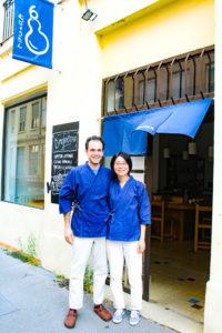 Adrien et Naoko - Heureux gérants du Mubyotan