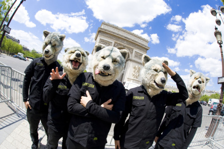 Man With A Mission à Paris