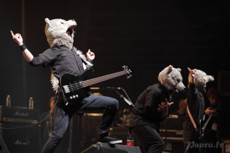 Showcase Man With A Mission à JE 2012