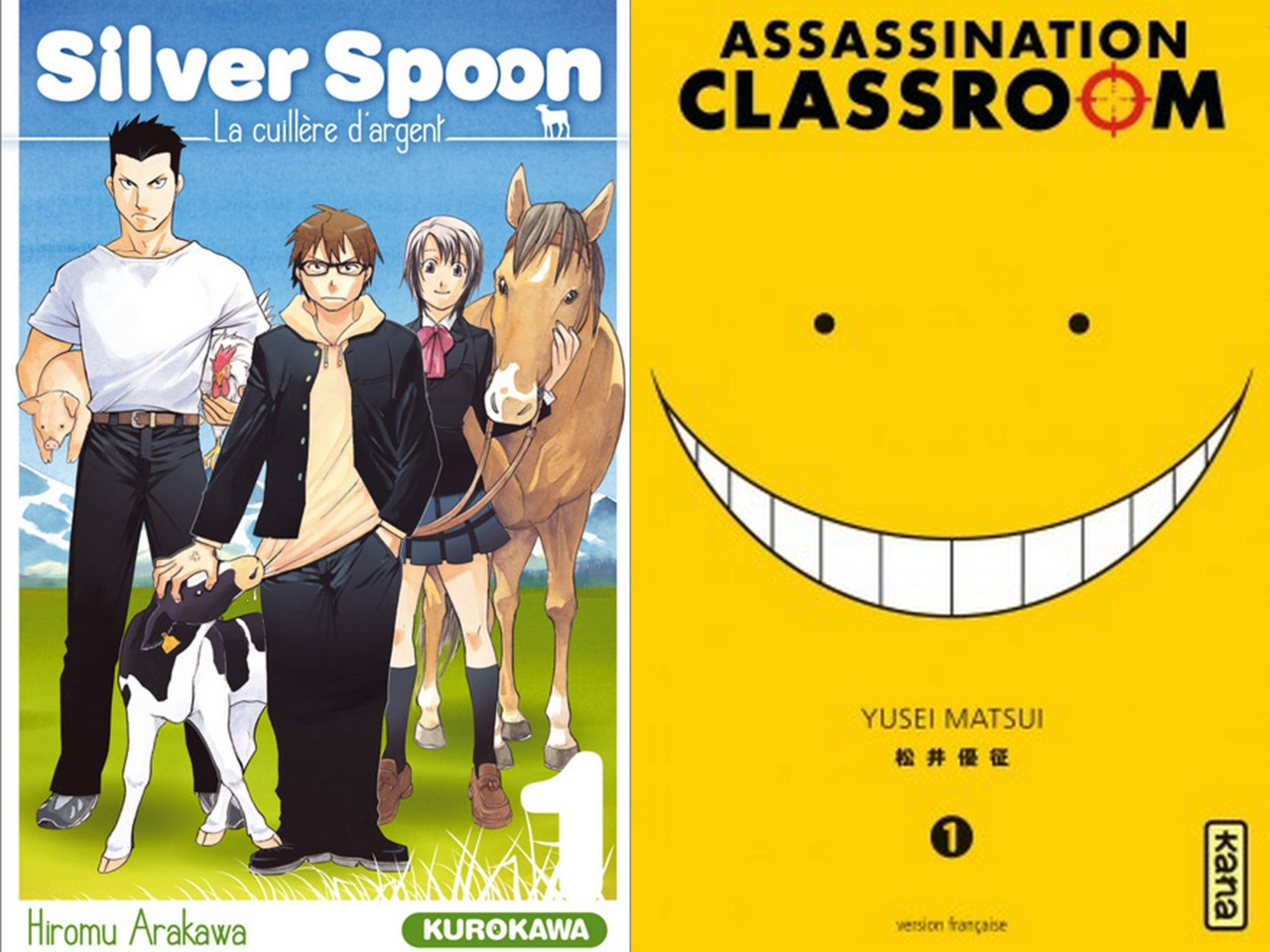 Silver Spoon Assassination Classroom