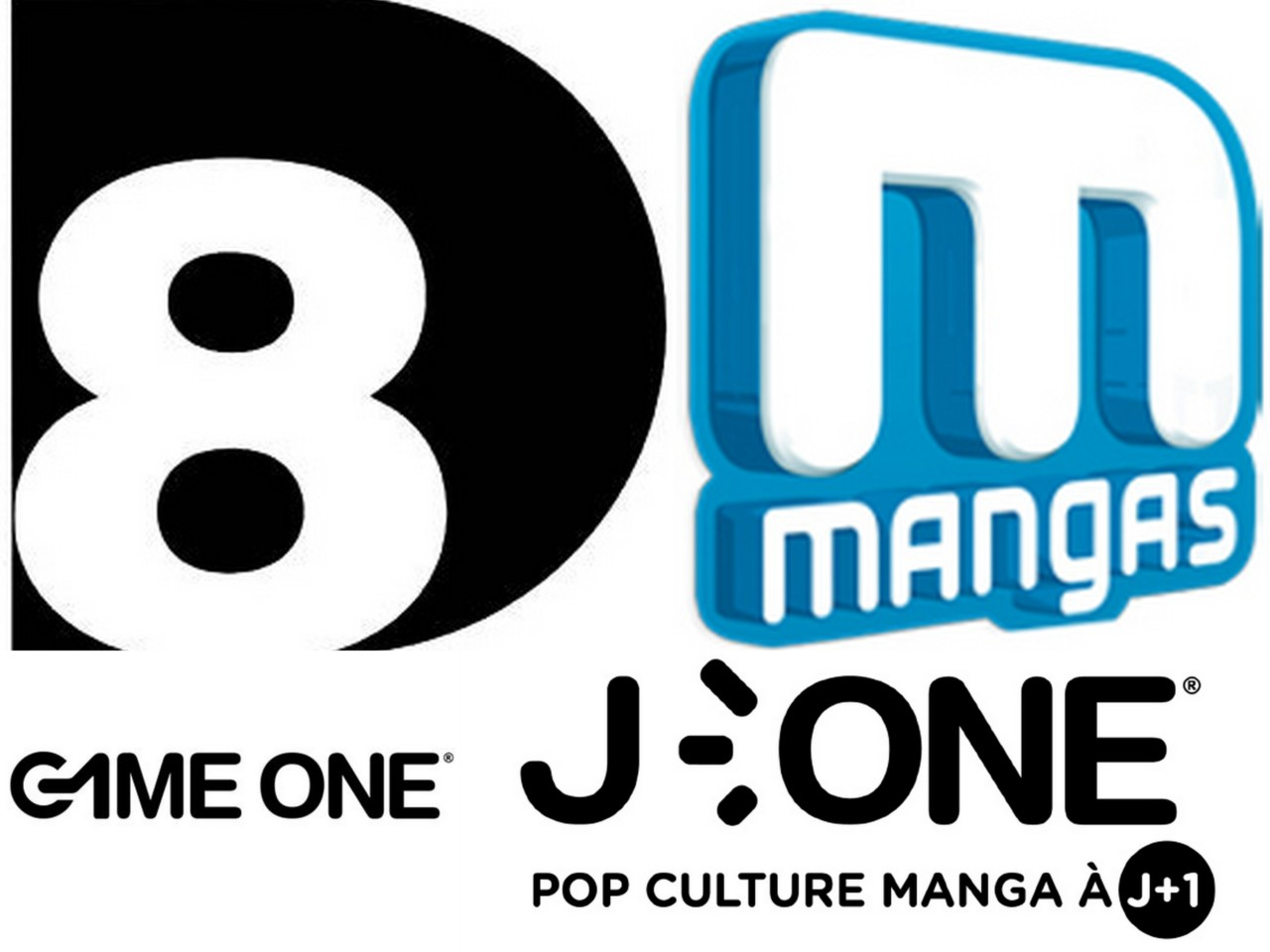 Chaînes TV D8 J-one Mangas Game One