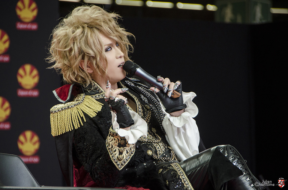 Kamijo à Japan Expo -- Photo Julien Chantôme