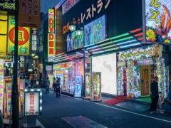 Shinjuku et ses néons