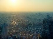 Le soleil sur Tokyo