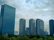 Les buildings d'Osaka