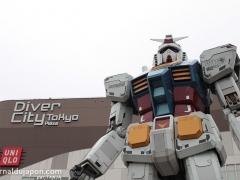 Gundam à Odaiba