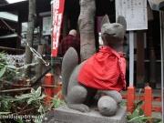 Renard protecteur dans un temple de Ueno