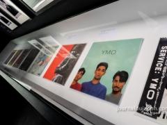 Yellow Magic Orchestra - collection de pochettes d'albums vinyl
