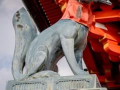 Renard (Kitsune) Statue
