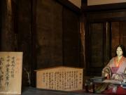 reconstitution de la chambre de Murasaki Shikibuku au Temple Ishiyama.