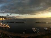 Le lac Biwa vue d'Otsu
