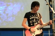 Yoshiaki Manabe (The Pillows) en showcase - JE 2014