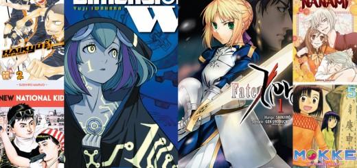 Selection manga février