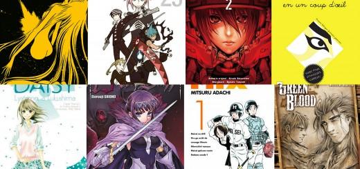 Selection manga juillet