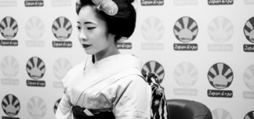 Geisha Interview Japan Expo