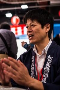 M. Suemasa, représentant de Kamotsuru