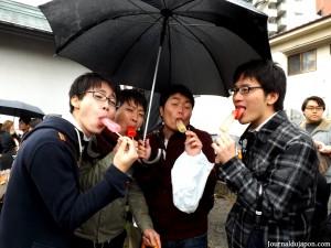Des japonais pleins d'humour
