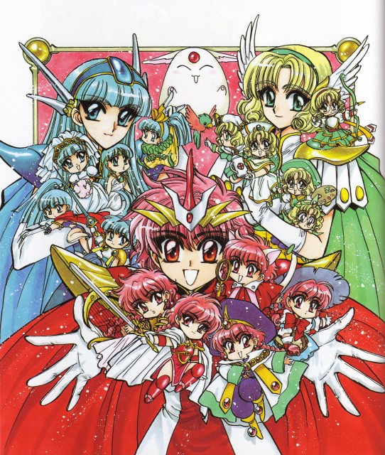 MAGIC KNIGHT RAYEARTH © 1994 CLAMP / KODANSHA Ltd.