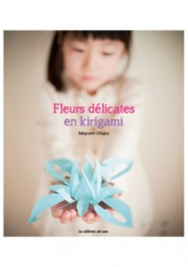 fleurs délicates en kirigami