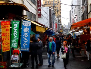 Un jour à Tokyo : Tsukiji, Oshiage, Asakusa