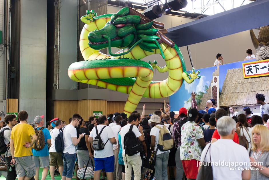 La foule était toujours présente coté  jeu vidéo  - Photo Digitalshot ©journaldujapon.com - Tous droits réservés