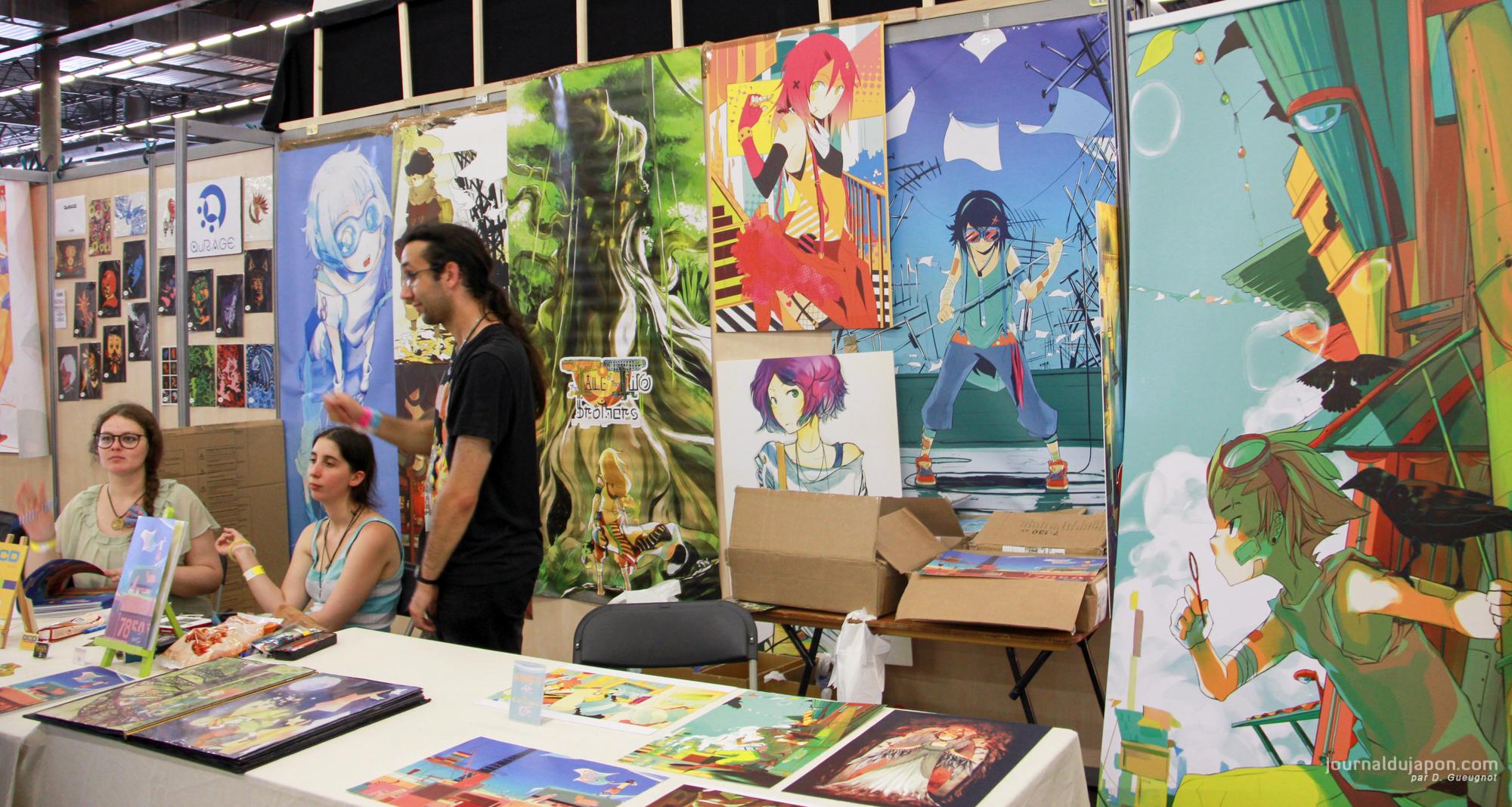 Stands Japan Expo 2015 : Japan expo dans l œil du visiteur