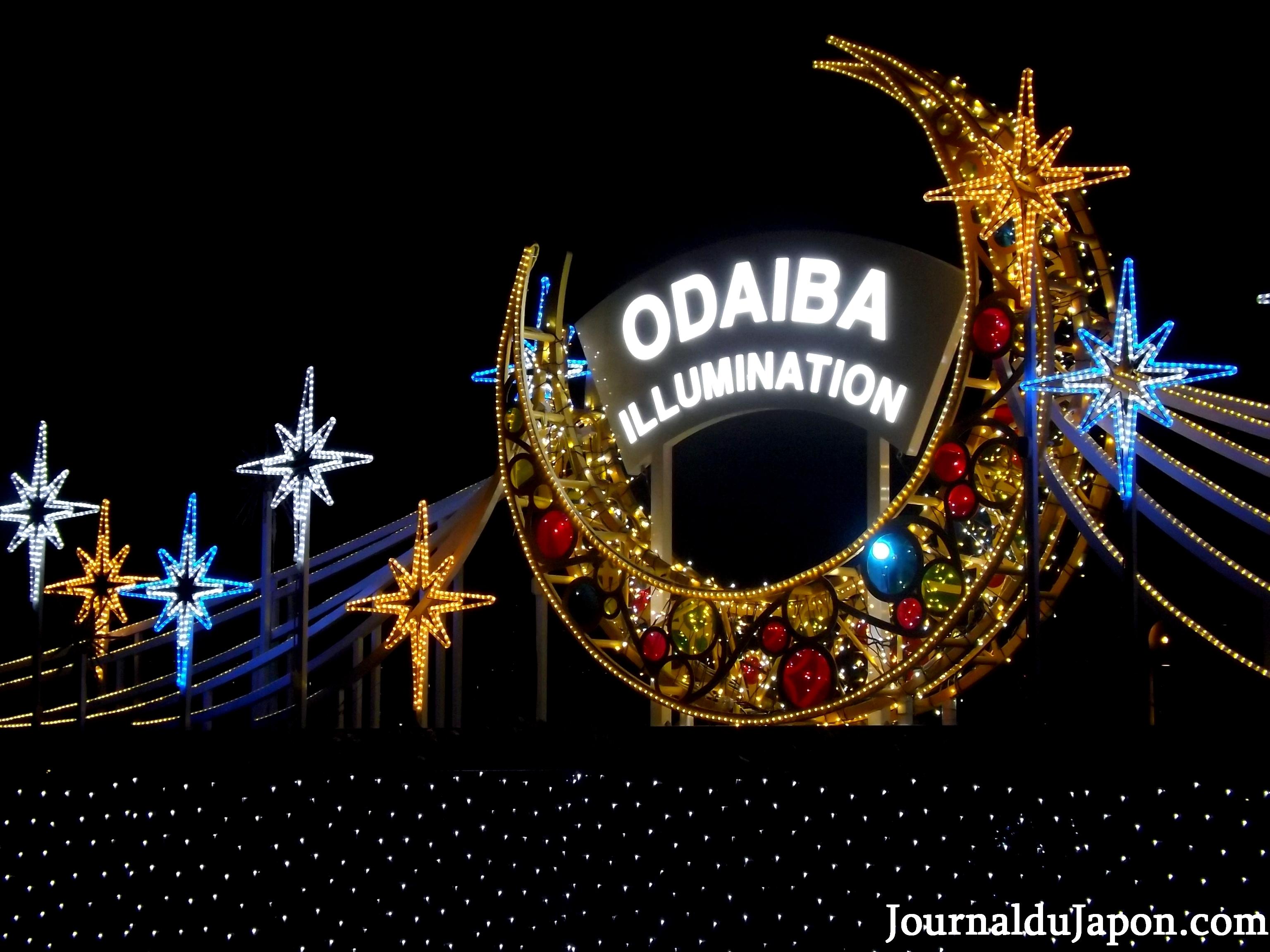 illuminations odaiba