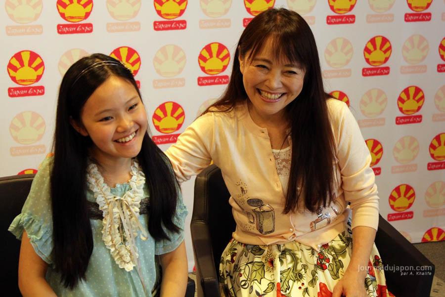 Azumi Inoue & sa fille Yu-Yu