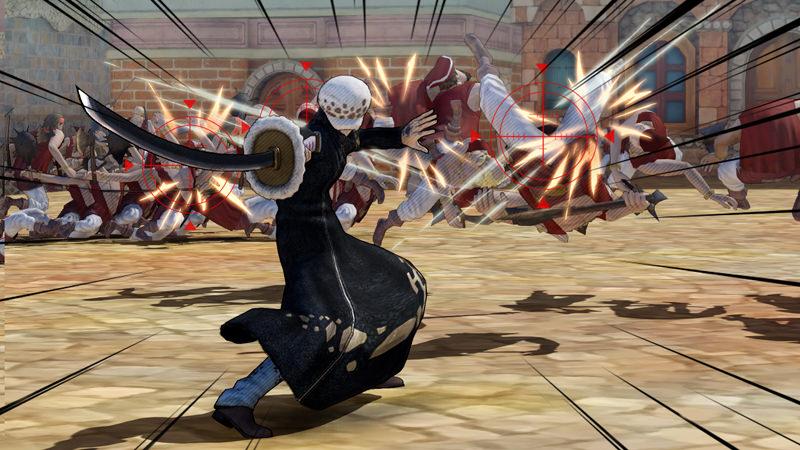 Pirate Warriors 3 - Ennemis
