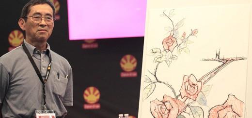 Shichirô Kobayashi lors de sa conférence