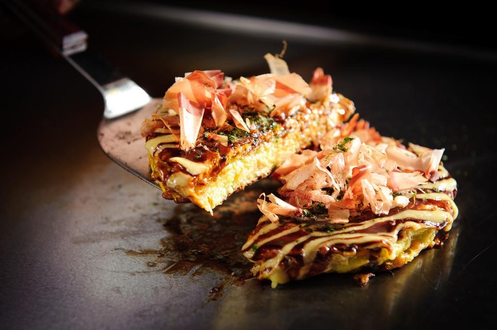 Okonomiyaki, célèbre met à Hiroshima