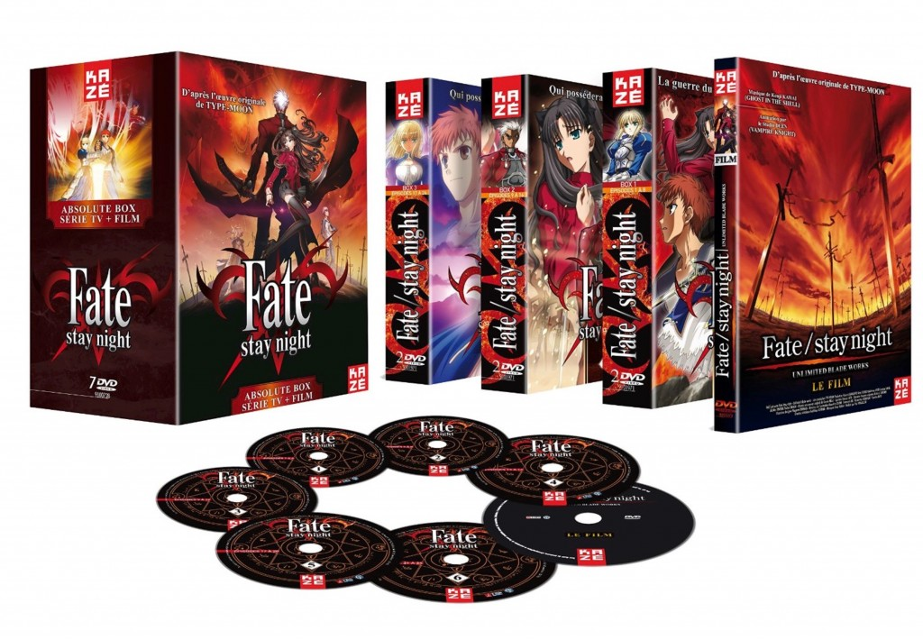 Fate Stay Night Box