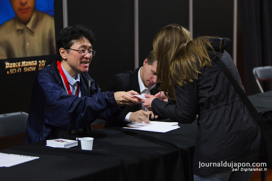 Dédicace Hirofumi Suzuki Paris-manga-2015-016