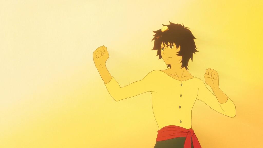 Au fil des ans, Kyuta va devenir un valeureux garçon, pleinement maître de lui, et un combattant hors pair.
