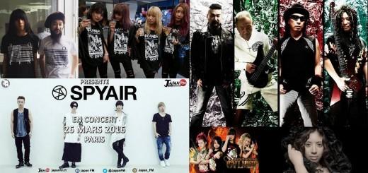 J-music Le récap de mars