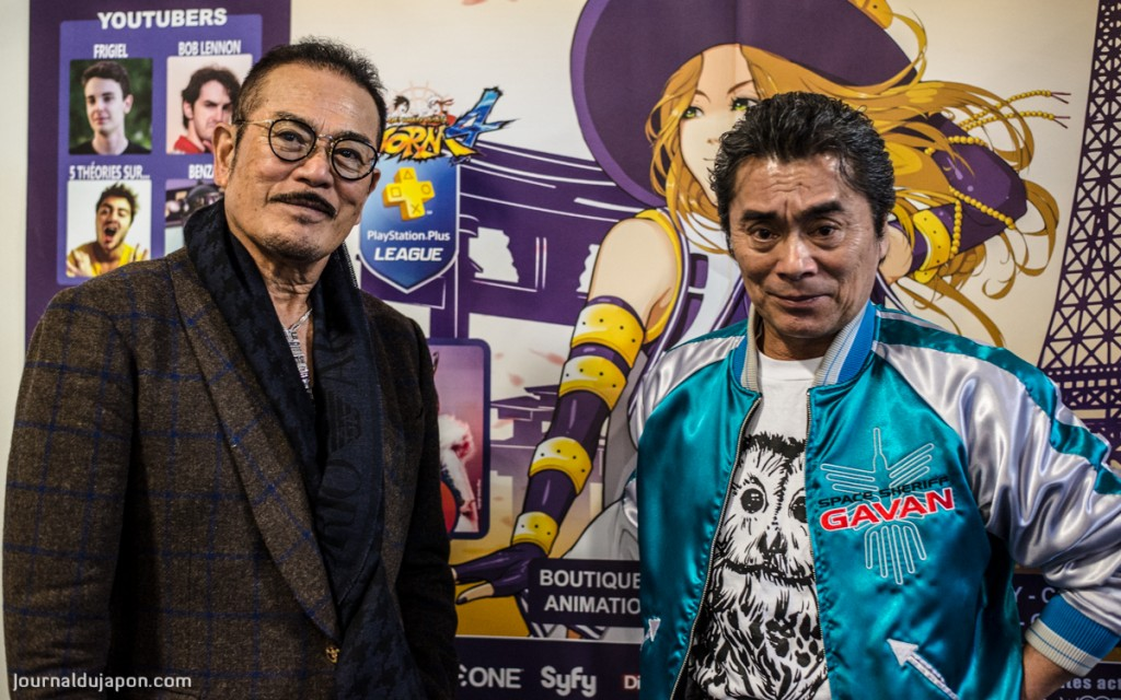 Sonny CHIBA et Kenji OBA réunis pour Paris Manga