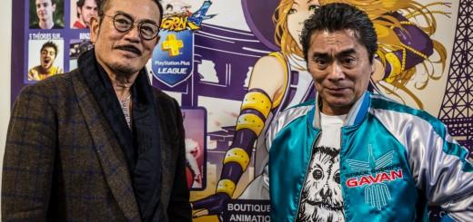 Sonny CHIBA et Kenji OBA réunis pour Paris Manga
